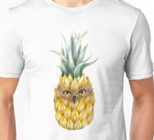 Pine apple owl Unisex T-Shirt