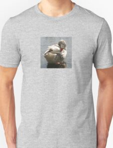 White Duck Spring Preening In Water T-Shirt