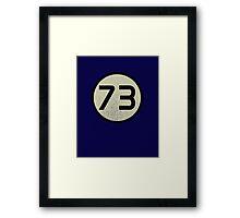 73 Sheldon shirt Framed Print