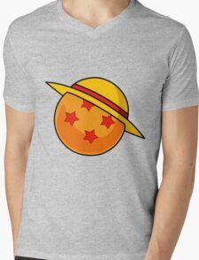 Piece ball Mens V-Neck T-Shirt