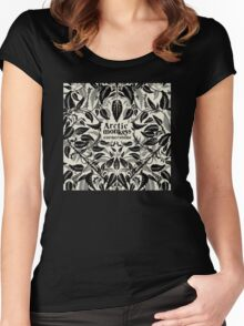 Arctic monkey cornerstone music albums Women's Fitted Scoop T-Shirt