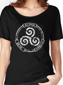 Alpha Beta Omega - Teen Wolf Women's Relaxed Fit T-Shirt