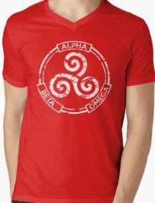 Alpha Beta Omega - Teen Wolf Mens V-Neck T-Shirt
