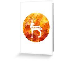 Expecto Patronum - Harry's Patronus Greeting Card