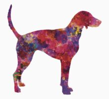 American Foxhound in watercolor                   Kids Tee