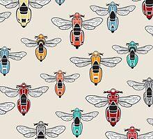 DoubleGood Vespa Wasp pattern by DoubleGood