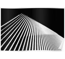 Melbourne, Deakin University Modern Architecture Poster