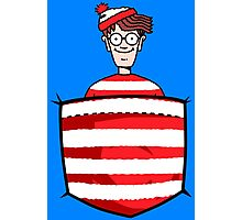 Wally / Waldo is in my pocket Photographic Print