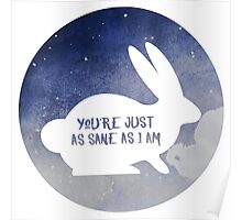 Luna Lovegood - Hare Patronus Poster