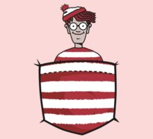Wally / Waldo is in my pocket One Piece - Long Sleeve