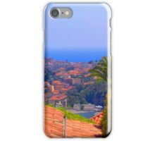 Picture fra Nice, France iPhone Case/Skin