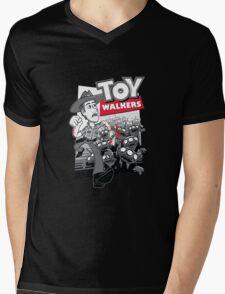 Walkers - The Walking Dead Mens V-Neck T-Shirt