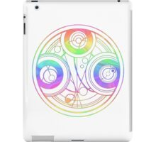 Rainbow Gallifreyan Doctor Who iPad Case/Skin