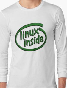 Linux Inside Long Sleeve T-Shirt