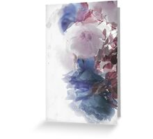 Winter roses Greeting Card