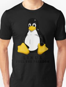 LINUX FEEL THE FREEDOM... T-Shirt