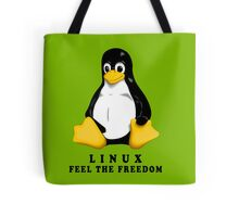 LINUX FEEL THE FREEDOM... Tote Bag