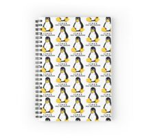 LINUX FEEL THE FREEDOM... Spiral Notebook