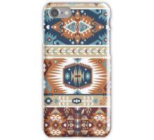 Decorative geometric pattern in tribal style iPhone Case/Skin