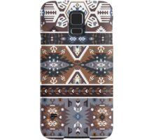 Decorative noir pattern in tribal style Samsung Galaxy Case/Skin