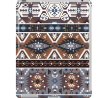 Decorative noir pattern in tribal style iPad Case/Skin