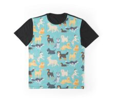 Dapper Dogs - pattern 2 Graphic T-Shirt