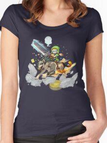 Nintendo Direct November 2015 Women's Fitted Scoop T-Shirt