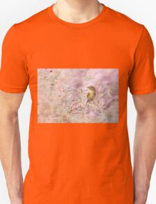 Adult Willow Warbler (Phylloscopus trochilus)  T-Shirt