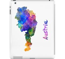 Austria in watercolor iPad Case/Skin