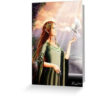 A Morning in Valinor Greeting Card