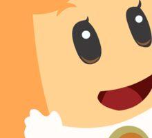 Orange Sprixie Princess  Sticker