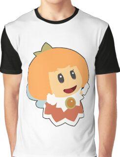 Orange Sprixie Princess  Graphic T-Shirt