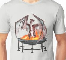 Magical Fire Dragon Unisex T-Shirt