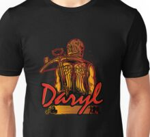 Daryl Acher Daryl Biker The Walking Dead Unisex T-Shirt