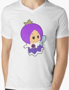 Purple Sprixie Princess Mens V-Neck T-Shirt