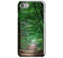 a path in the forest iPhone Case/Skin