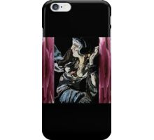 Woman abstract iPhone Case/Skin