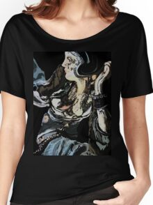 the big woman abstract Women's Relaxed Fit T-Shirt