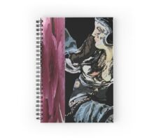 Woman abstract Spiral Notebook