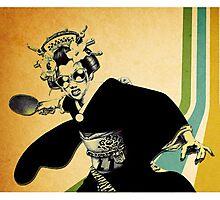 geisha pong Photographic Print