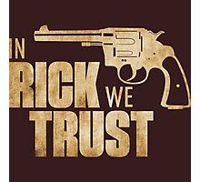 Rick Grimes - The Walking Dead Photographic Print