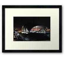 Gateshead - Sage  Framed Print