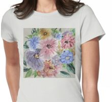 Mountain Flowers 2 Womens Fitted T-Shirt