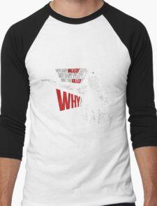 Rick Grimes - The Walking Dead Men's Baseball ¾ T-Shirt