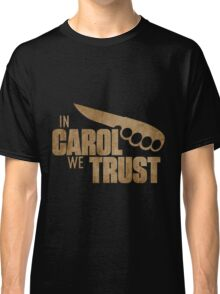 Carol The Walking Dead Classic T-Shirt