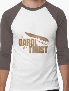 Carol The Walking Dead Men's Baseball ¾ T-Shirt
