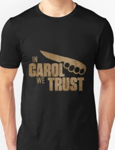 Carol The Walking Dead Unisex T-Shirt