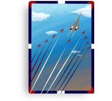 Flight of Concorde Canvas Print