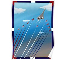 Flight of Concorde Poster