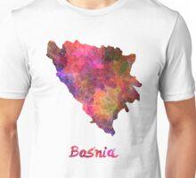 Bosnia in watercolor Unisex T-Shirt